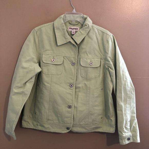 Dri Duck Jackets & Blazers - DriDuck Dri Duck Light Sage Green Jacket Size L